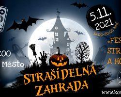 Připravujeme: STRAŠIDELNÁ ZAHRADA – festival strašidel a hororu